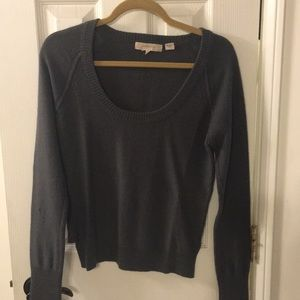 Gray Cashmere Sweater by Inhabit